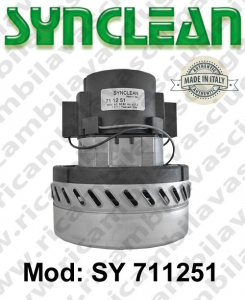 Vacuum motor SY  711251 SYNCLEAN for scrubber dryer and vacuum cleaner