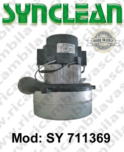 Vacuum motor SY  711369 SYNCLEAN for scrubber dryer and vacuum cleaner
