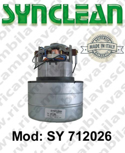 Vacuum motor SY  712026 SYNCLEAN for vacuum cleaner