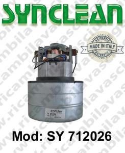 Vacuum motor SY  712026 SYNCLEAN for vacuum cleaner