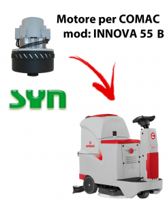 INNOVA 55 B Vacuum motor SY N for scrubber dryer Comac