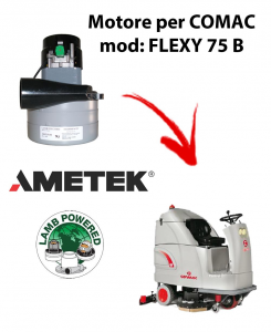 FLEXY 75 B Ametek Vacuum Motor for scrubber dryer Comac