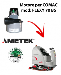 FLEXY 70 BS Ametek Vacuum Motor for scrubber dryer Comac