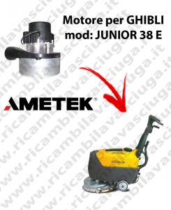 JUNIOR 38 E Vacuum motor SY NCLEAN for scrubber dryer GHIBLI