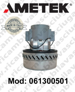 Vacuum motor 061300501 AMETEK ITALIA for scrubber dryer and vacuum cleaner