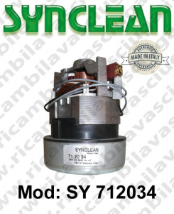 Vacuum motor SY 712034 SYNCLEAN for vacuum cleaner