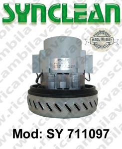 Vacuum motor SY  711097 SYNCLEAN for scrubber dryer and vacuum cleaner