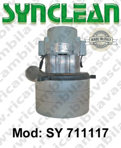 Vacuum motor SY  711117 SYNCLEAN for scrubber dryer and vacuum cleaner
