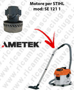 SE 121 1 Ametek Vacuum Motor for vacuum cleaner STIHL