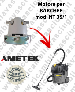 NT 35/1  Ametek Vacuum Motor for vacuum cleaner KARCHER