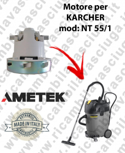 NT 55/1  Ametek Vacuum Motor for vacuum cleaner KARCHER