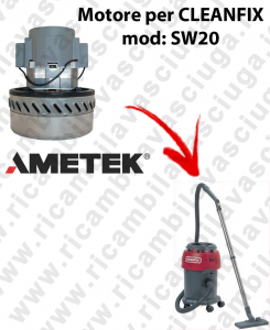 SW20 AMETEK vacuum motor for wet and dry vacuum cleaner CLEANFIX