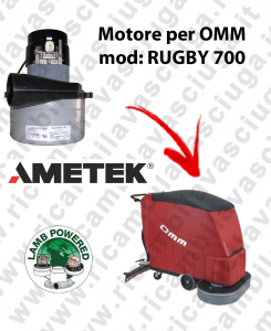RUGBY 700 LAMB AMETEK vacuum motor for scrubber dryer OMM