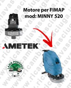 MYNNY 520 LAMB AMETEK vacuum motor for scrubber dryer FIMAP