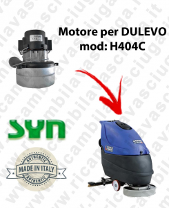 H404 C Vacuum motor Synclean for scrubber dryer DULEVO