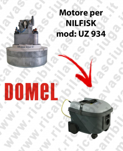 UZ 934 Vacuum motor for vacuum cleaner NILFISK