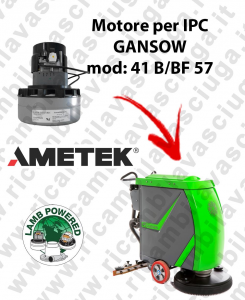 41 B/BF 57 LAMB AMETEK vacuum motor for scrubber dryer IPC GANSOW