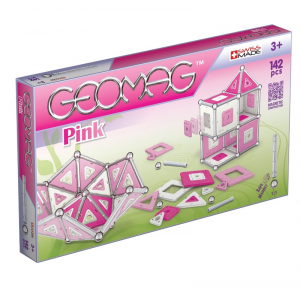 GEOMAG PANELS PINK - 142 PEZZI