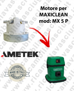 MX 5 P AMETEK Vacuum motor for vacuum cleaner MAXICLEAN
