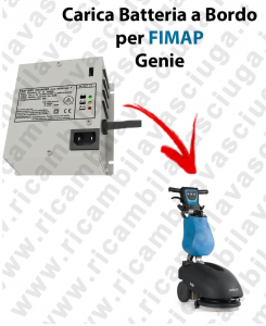 Onboard Battery Charger for scrubber dryer FIMAP Genie