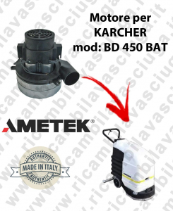BD 450 Ametek vacuum motor for scrubber dryer KARCHER
