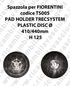 PAD HOLDER TRECSYSTEM  for scrubber dryer FIORENTINI