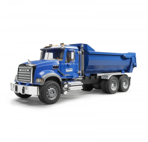 BRUDER MACK GRANITE CAMION RIBALTABILE MOVIMENTO TERRA 2823
