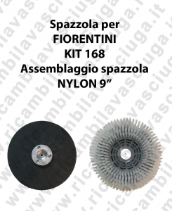 Spazzola NYLON for scrubber dryer FIORENTINI KIT 168