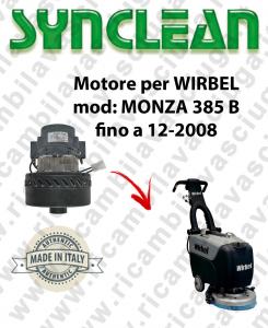 MONZA 385 B till 12-2008 Vacuum motor Synclean for scrubber dryer WIRBEL