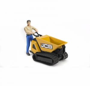 BRUDER DUMPSTER JCB HTD-5 CON FIGURA 62004