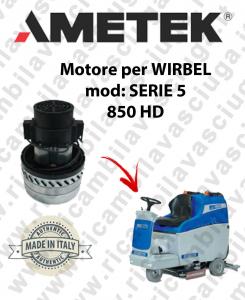 SERIE 5 850 HD Ametek vacuum motor for scrubber dryer WIRBEL
