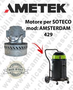 AMSTERDAM 429 Ametek Vacuum Motor for vacuum cleaner SOTECO