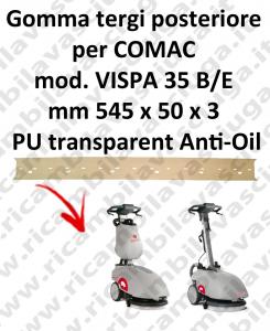VISPA 35 B/E squeegee rubber back antiolio Comac