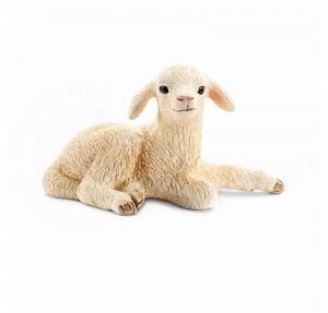 SCHLEICH FARM LIFE ANIMALI DELLA FATTORIA AGNELLO DISTESO 13745
