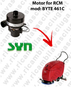 BYTE 461C SYNCLEAN VACUUM MOTOR scrubber dryer RCM