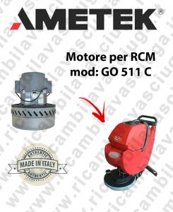 GO 511 C Ametek Vacuum Motor scrubber dryer RCM