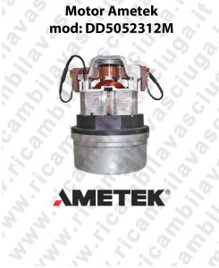 Vacuum motor mod. DD5052312M AMETEK for vacuum cleaner e scrubber dryer