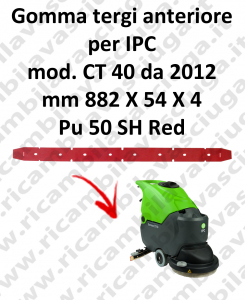 CT 40 from 2012 squeegee rubber scrubber dryer front for IPC