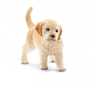 SCHLEICH FARM LIFE CANI GOLDEN RETRIEVER CUCCIOLO 16396