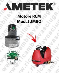 JUMBO Vacuum motor LAMB AMETEK scrubber dryer RCM