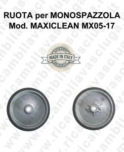 RUOTA for single disc MAXICLEAN MX05-17