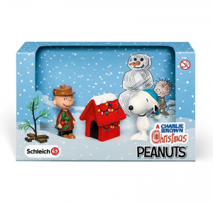 SCHLEICH PEANUTS SCENARY PACK CHRISTMAS 22017