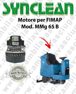 MMG 65 B Vacuum motor SYNCLEAN scrubber dryer FIMAP