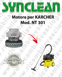 NT 301 Vacuum motor SYNCLEAN  for vacuum cleaner KARCHER