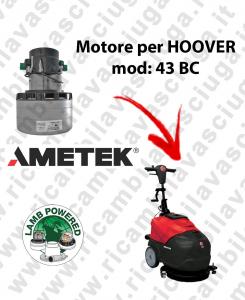 43 BC Lamb Ametek vacuum motor di aspirazione for scrubber dryer HOOVER-2