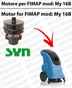 My 16 B Vacuum motor SYN for scrubber dryer FIMAP