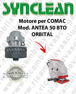 ANTEA 50 BTO ORBITAL Vacuum motor SYNCLEAN for scrubber dryer COMAC