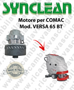 VERSA 65 BT Vacuum motor SYNCLEAN for scrubber dryer COMAC