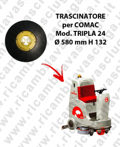 Padholder for scrubber dryer COMAC mod. TRIPLA 24