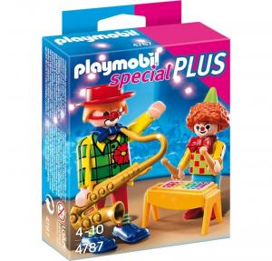 PLAYMOBIL CLOWN MUSICISTI 4787